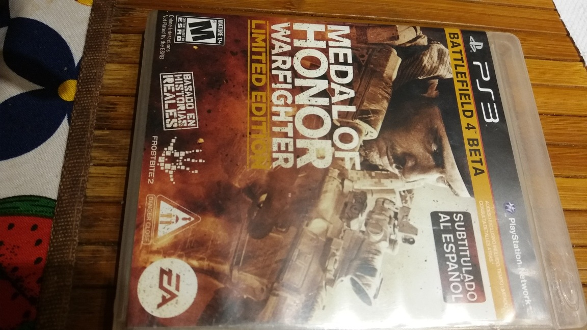 1e16b7f052 Medal Of Honor Warfighter Limited Edition Oferta!!! -   280