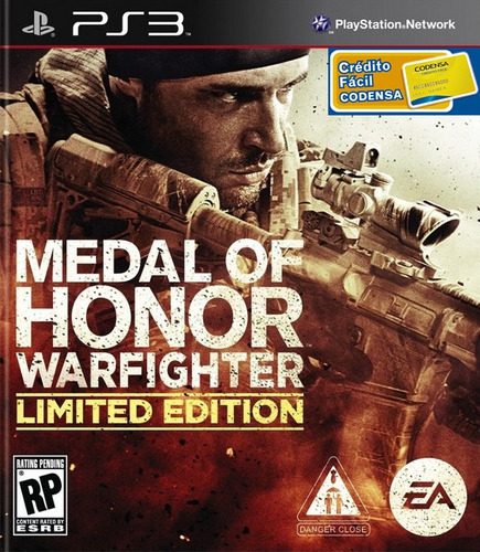 medal of honor warfighter limited edition ps3 + envio gratis