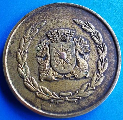 medalha 2ª regata naval do rio de janeiro 1977 60mm 100gr