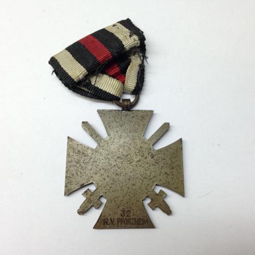 medalha alemã primeira guerra wwii hindenburg cross coleção