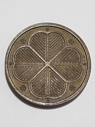 medalha antiga dragão