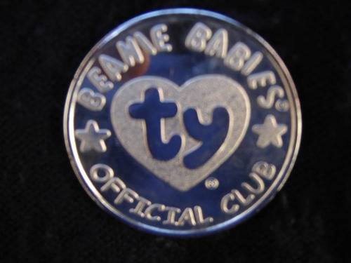 medalha beanie babies- club oficial!!