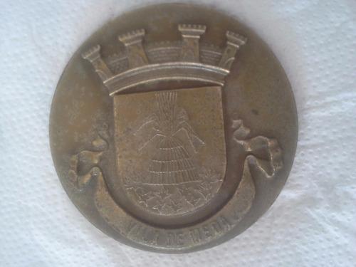 medalha - brasão, vila de meda, paços do concelho