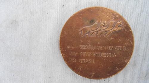 medalha comemorativa  sesquicentenario