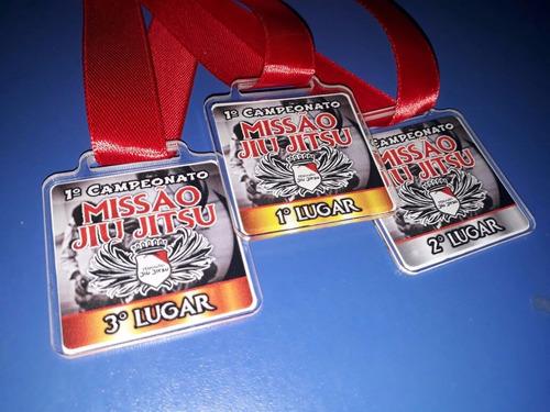 medalha de acrílico personalizada - acima de 20 peças