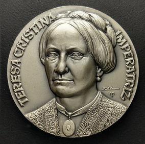 Resultado de imagem para selo da Imperatriz Teresa Cristina