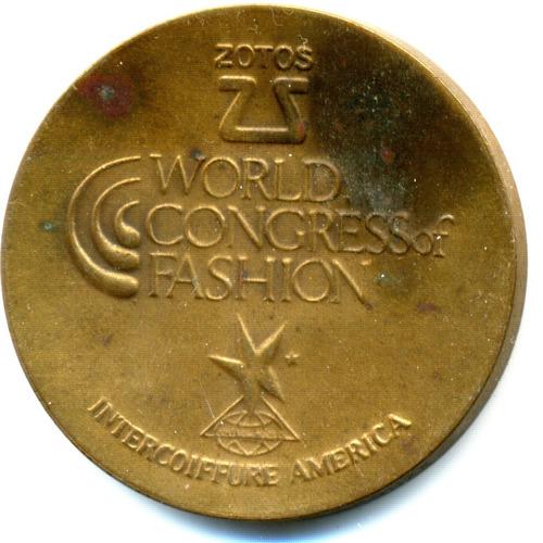 medalha do congresso mundial de moda 1980 possuo outras de7