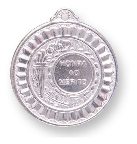 medalha esportiva 55mm 10 peças com fita - ouro/prata/bronze