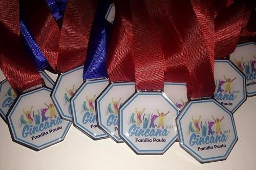 medalha esportiva personalizada de metal resinada