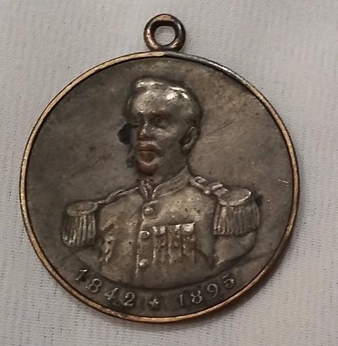 medalha falecimento do marechal floriano peixoto - rara