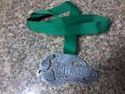 medalha finisher - barigui nigth run - curitiba 2012