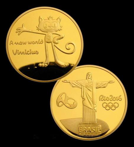 medalha moeda olimpiadas rio 2016 ouro prata vinicius tocha