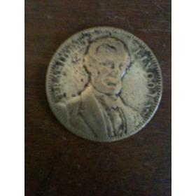 Medalha Original De Prasident  Lincoln