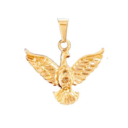 medalha sagrado coração maria ouro ping espírito santo e cor