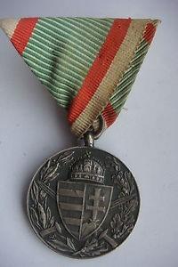 medalha veteranos da 1a guerra - austria hungria