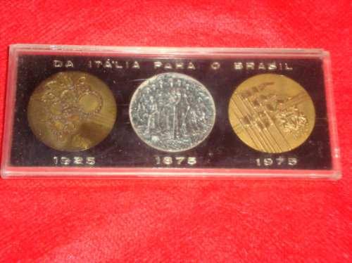 medalhas comemorativas italiana