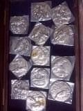 medalhas de pratas raridades