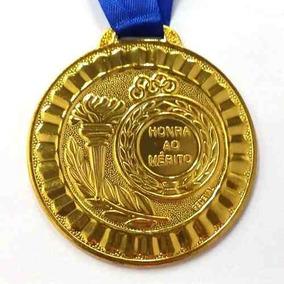 160104a15 Kit Medalhas Honra Ao Merito Ouro Prata Bronze no Mercado Livre Brasil