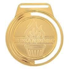 medalhas vitoria m50000 - ouro/prata/bronze com fita