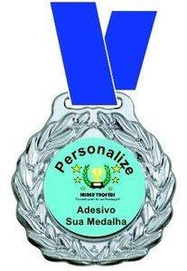 medalhas vitoria m60000 - ouro/prata/bronze com fita