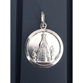 Medalla 20mm Plata Ley 925 Virgen Del Valle 4,3gr Grabado 9
