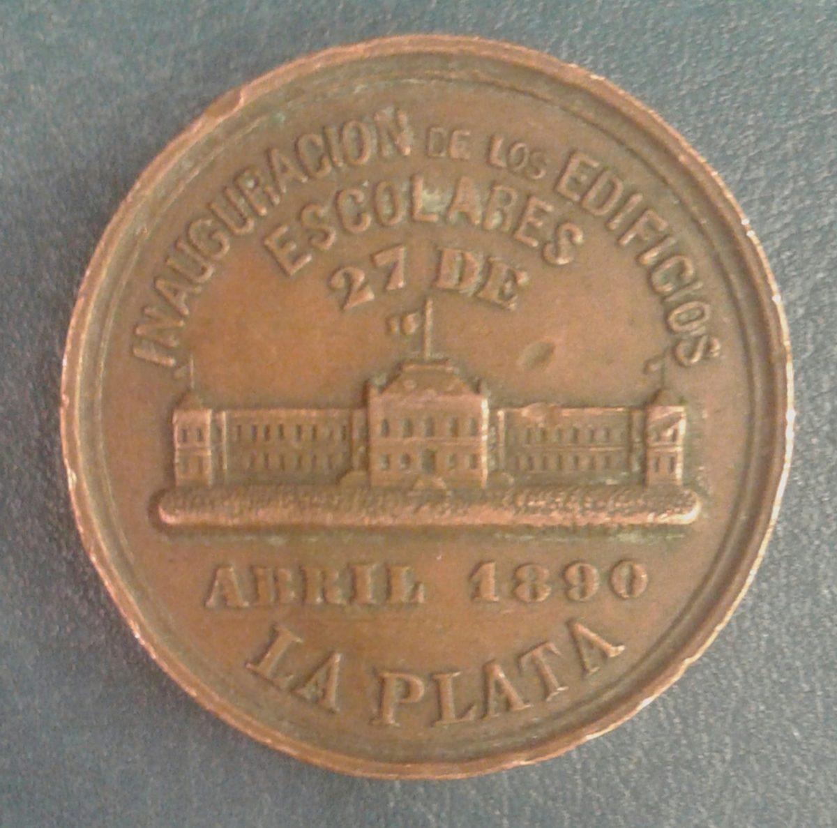 Medalla 7 De Abril 1890 Gobierno Máximo Paz Emilio Carranza