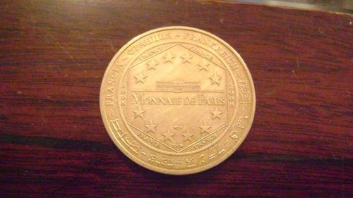 medalla 8 moneda coleccionable paris varios monumentos