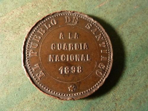 medalla a la guardia nacional 1898 - vp