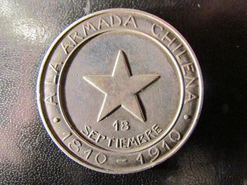 medalla a la marina chilena de la armada argentina 1810 1910