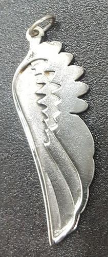 medalla ala angel en plata 4,5 cm 4,5 gr art 192