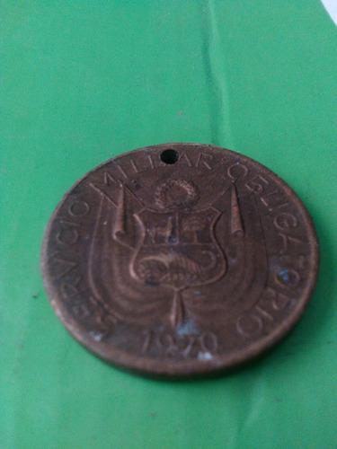 medalla bolognesi servicio militar obligatorio 1970