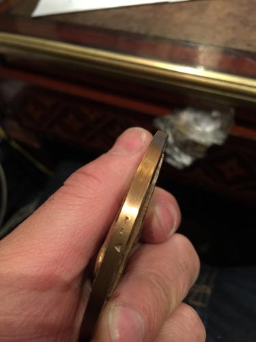 medalla bronce dermatología bernard duperrat  lieu dieu