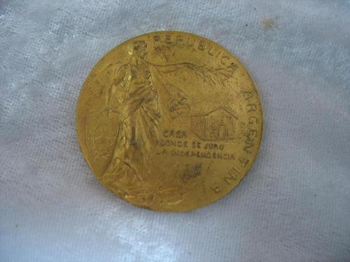 medalla centenario de la independencia 1816 - 1916