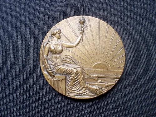 medalla, centenario r.o.u (1930)