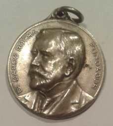 medalla cincuentenario fundación de la plata dr. dardo rocha