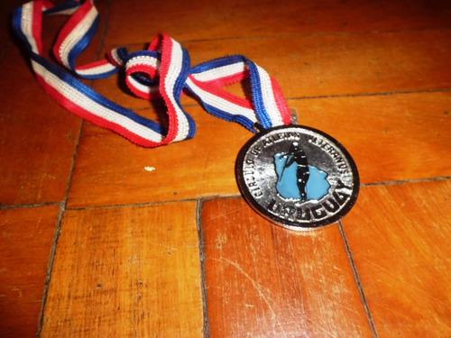 medalla circulo de atletas veteranos