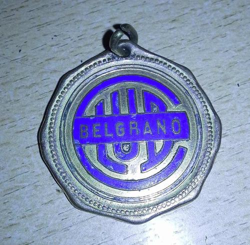 medalla club belgrano