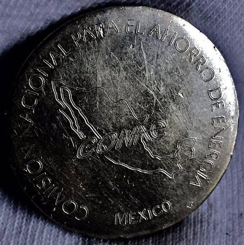 medalla comis nacional ahorro de agua plata 1 oz envió grati