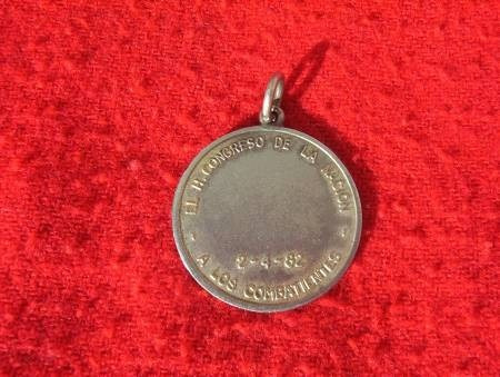 medalla condecoración original congreso a veteranos malvinas