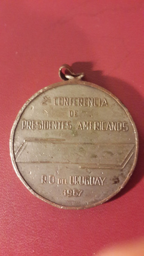 medalla conferencia san rafael punta este 1967, 48 mm, mt136