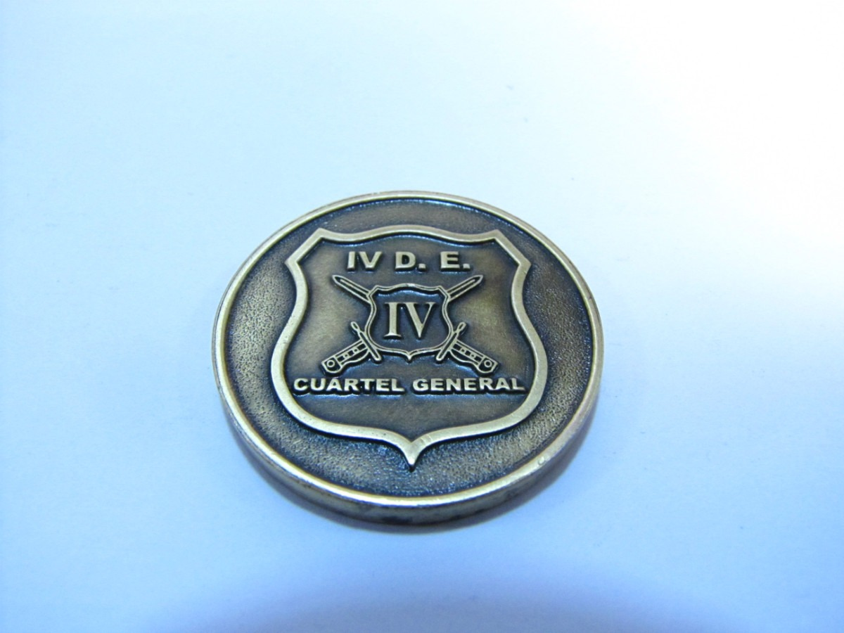 Medalla Cuarta Division. Ejercito De Chile - $ 7.000 en Mercado Libre