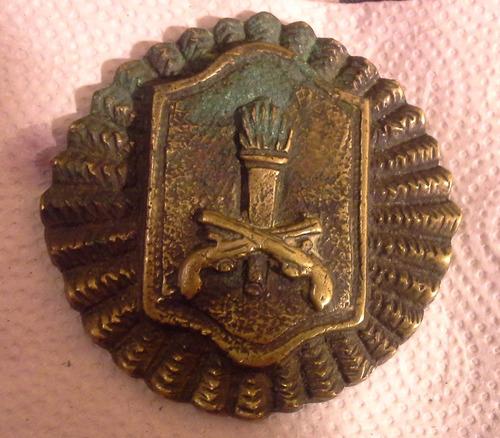 medalla cuerpo especial de la policia federal