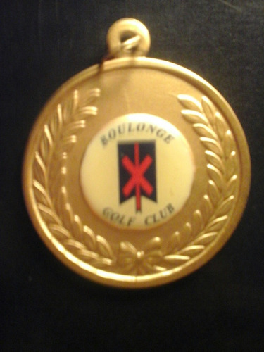 medalla de golf club boulonge