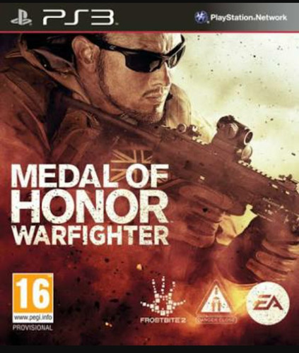 medalla de honor warfighter / ps3 digital
