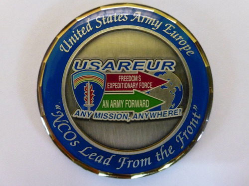 medalla de la armada europea u.s.a / efectivo o trueque