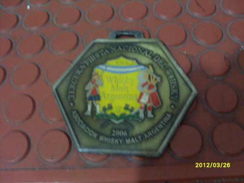 medalla de la tercera fiesta nacional del whisky año: 2006