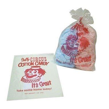 medalla de oro de plástico del caramelo de algodón bolsas (