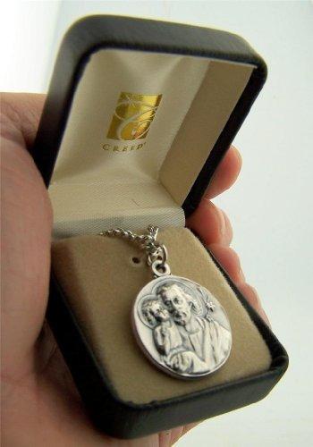 medalla de oro patrona de base saint joseph the worker, 78 p