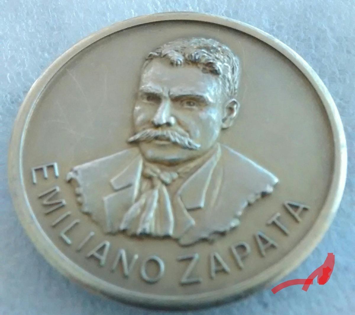 zoom zapata de emiliano medalla plata agraria Cargando cqYpwfwB