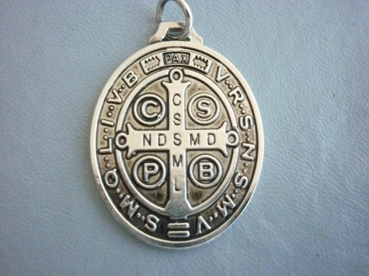 8bb92be6f5d medalla de san benito en 7metales virgenes acabado artesanal. Cargando zoom.